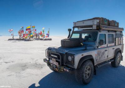 Land Rover Defender pour 8 mois en Amérique du Sud