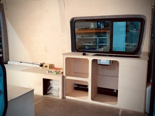 Cabinet mobile pour thérapeute