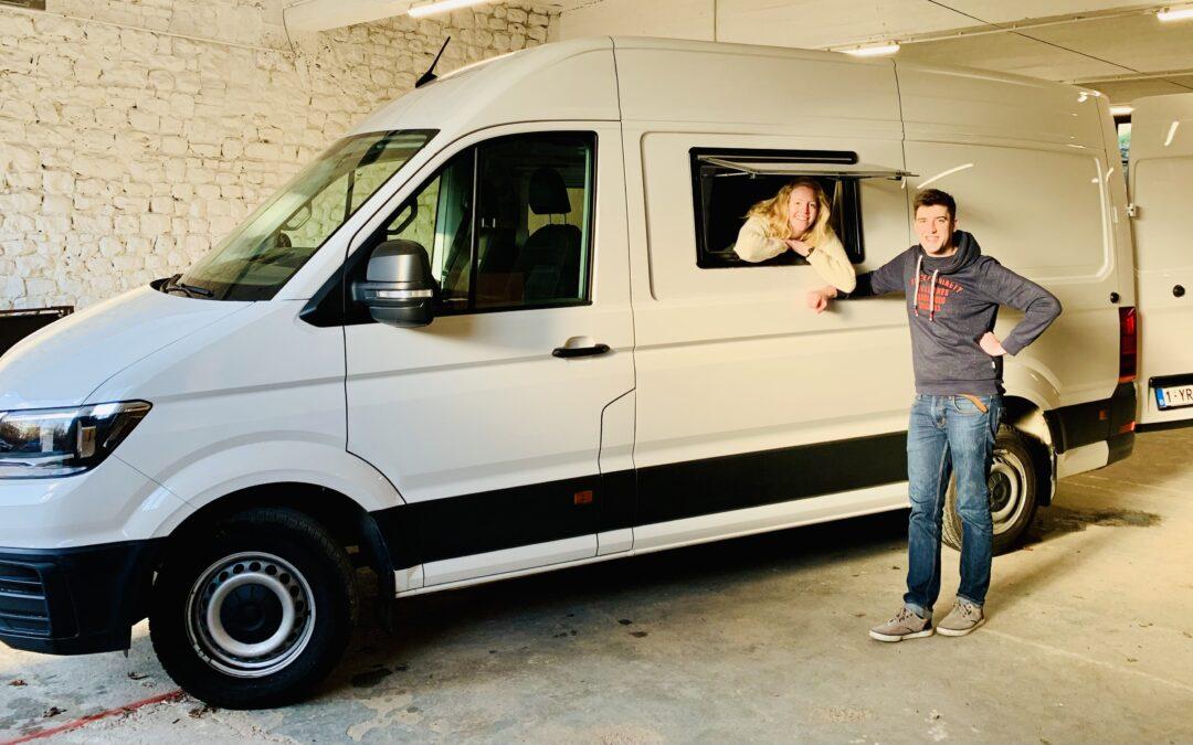 VW Crafter – Jérôme & Emilie